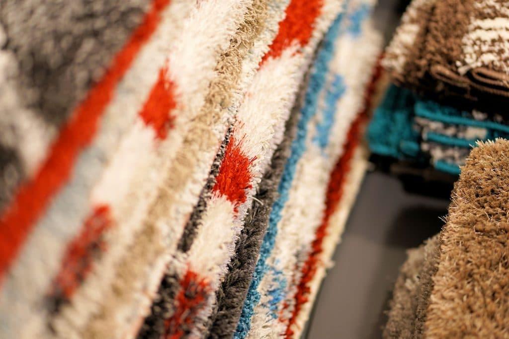 Auswahl an Teppichböden