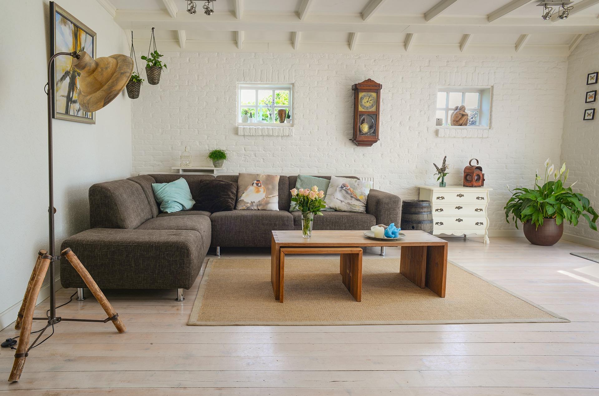 Wohnzimmer planen: So schaffen Sie ein gesundes Wohnklima