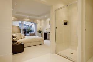 Schlafzimmer und Badezimmer als Einheit gestalten