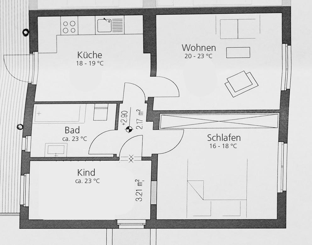 Richtig heizen: Die optimale Raumtemperatur für Wohnung und Haus