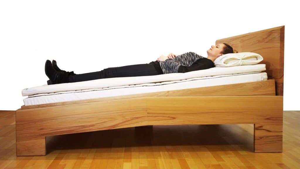 Schrägschlafen Samina Gravity