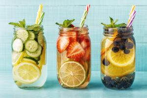 «Infused» oder «Flavoured» Water selbst herstellen