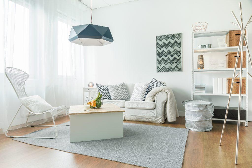 Gesund Wohnen kleines Wohnzimmer